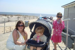 In Ocean City with the kids!