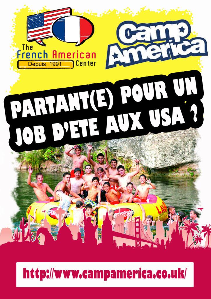 job d u0026 39  u00e9t u00e9 pour  u00e9tudiants aux usa